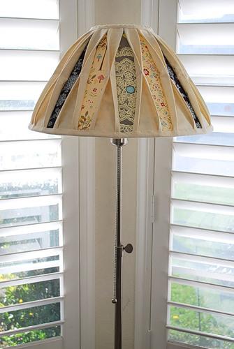 Абажур на настольную лампу своими руками фото