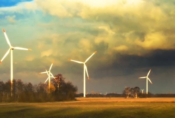 электростанция с использованием силы ветра