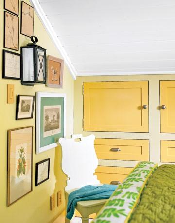 Оформление спальни встроенная мебель