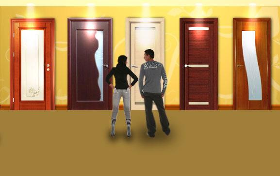 Двери межкомнатные в СПб
