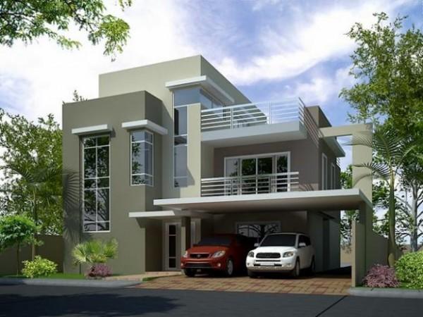 индивидуальный дом разной этажности