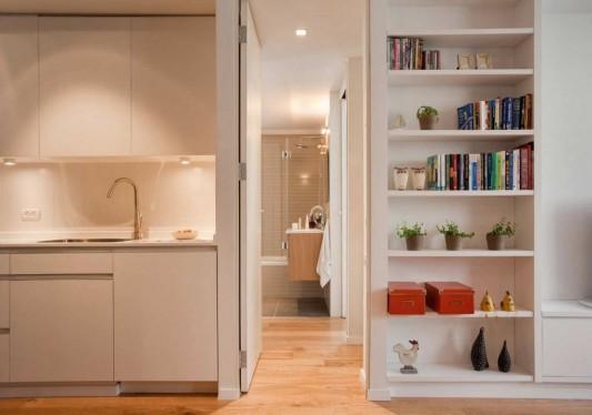 интерьер в трехкомнатной квартире