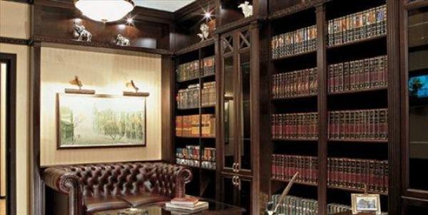 библиотека в английском стиле