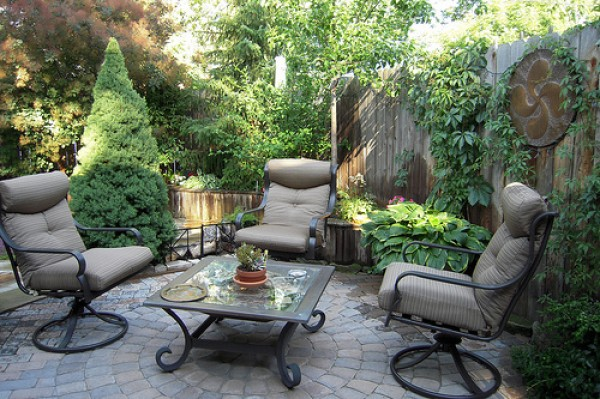 мягкая садовая мебель