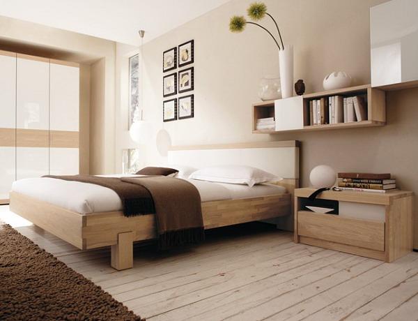 интерьер спальной