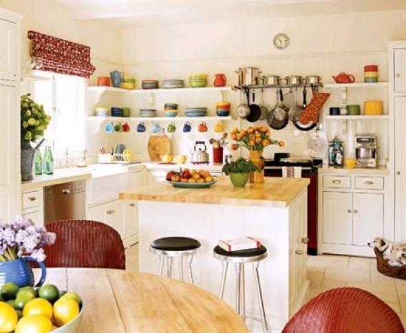 Интерьер на кухни своими руками