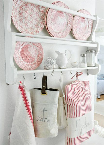 оригинальные полки для посуды
