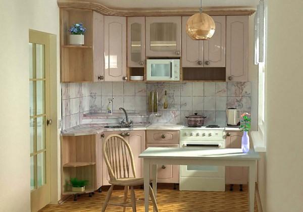 Дизайн кухни 6 кв. м фото - как облагородить хрущевскую кухню фото 6.