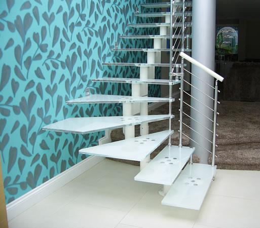 стекляная лестница