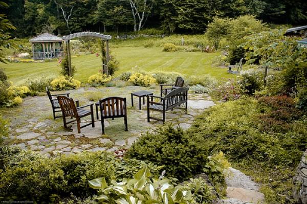 садовые скамьи