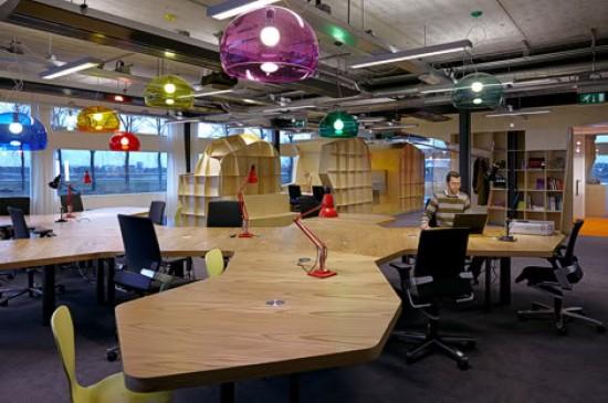 креативные решения офисного пространства