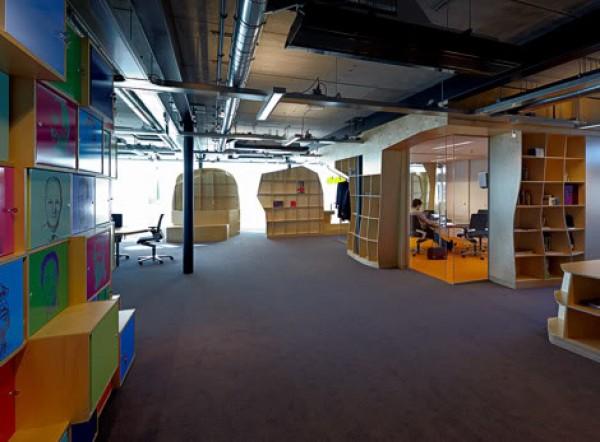большое офисное пространство