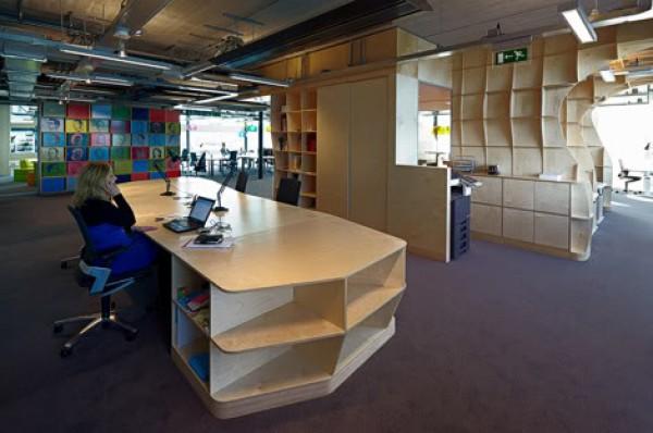 креативная мебель для офиса