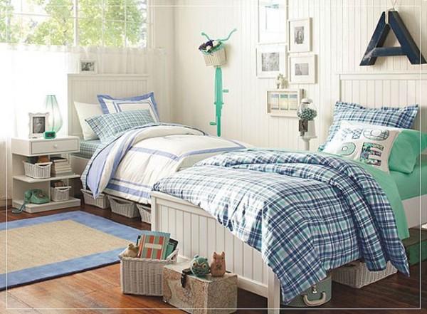 спальня в индивидуальном доме