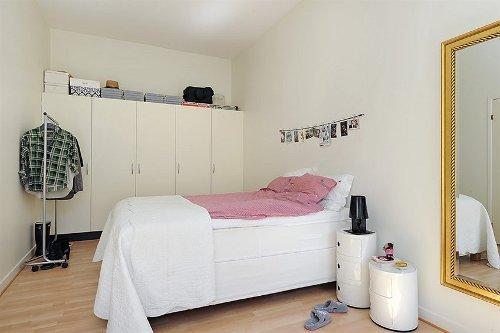 спальня скандинавский стиль