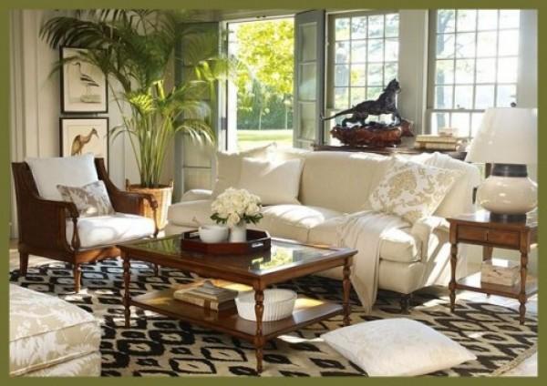 тропический стиль в дизайне интерьера