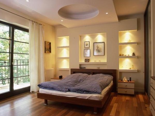 светильники в спальне