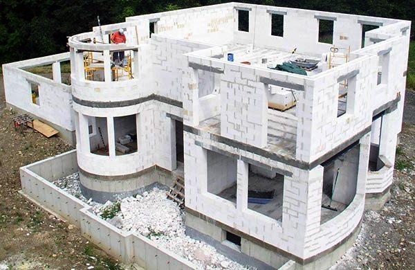 дома из газосиликатных блоков