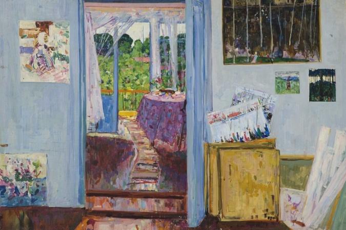 Домашников Б. Ф.«Весна в моей квартире