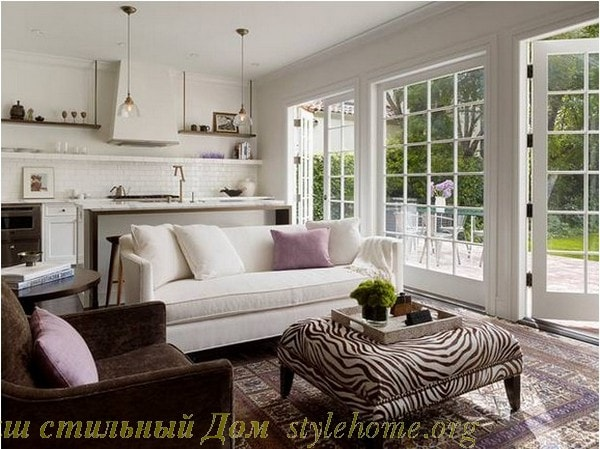 Дизайн небольшой гостиной