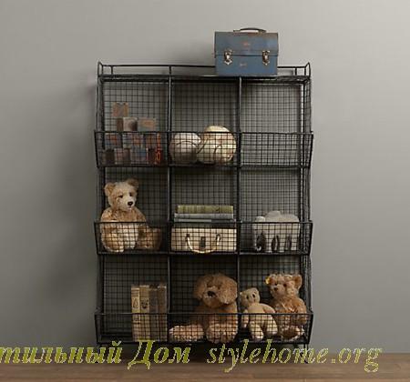 примеры организации хранения игрушек в детской