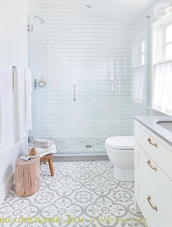 белая ванная всегда в моде