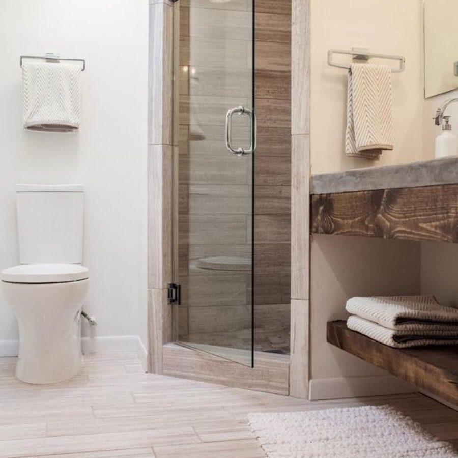 ультра-современный дизайн ванной комнаты