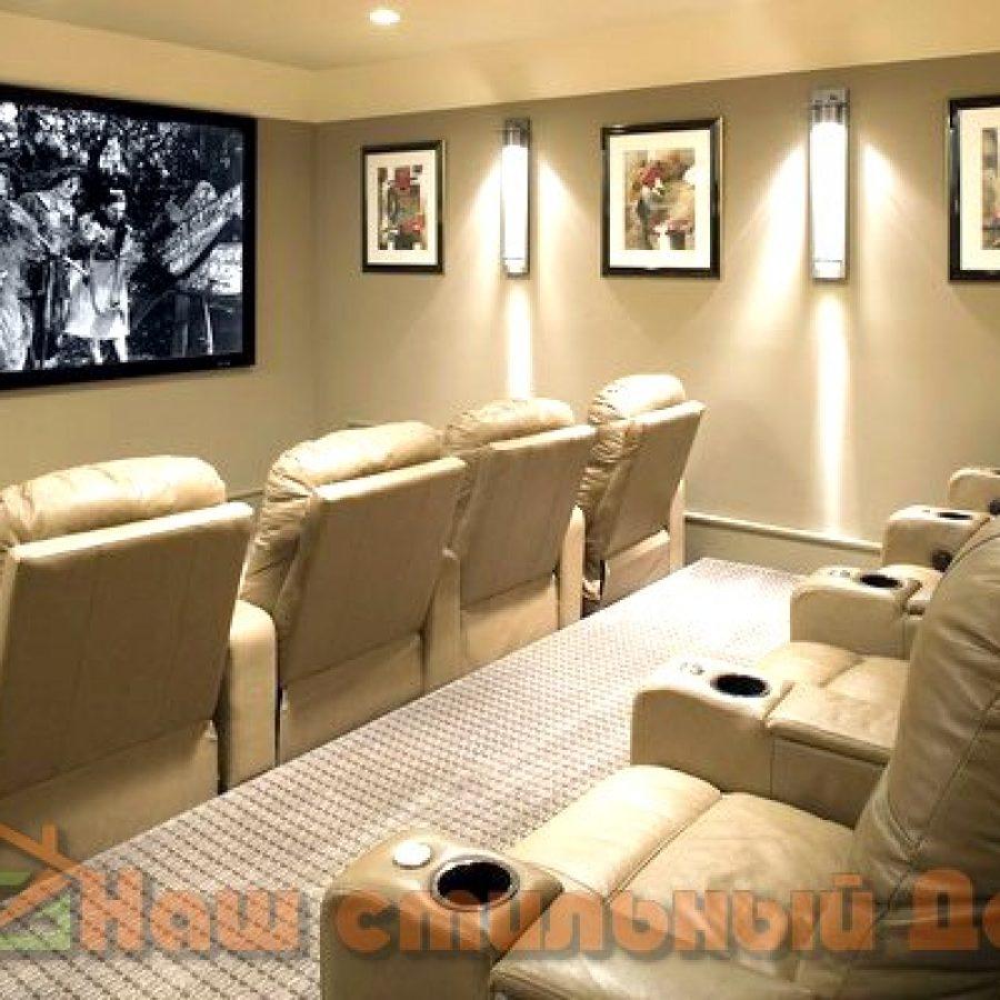 Как выбрать правильные диваны и кресла для домашнего кинотеатра