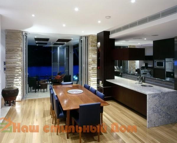 Как можно обеспечить комфортную обстановку в столовой для большой семьи