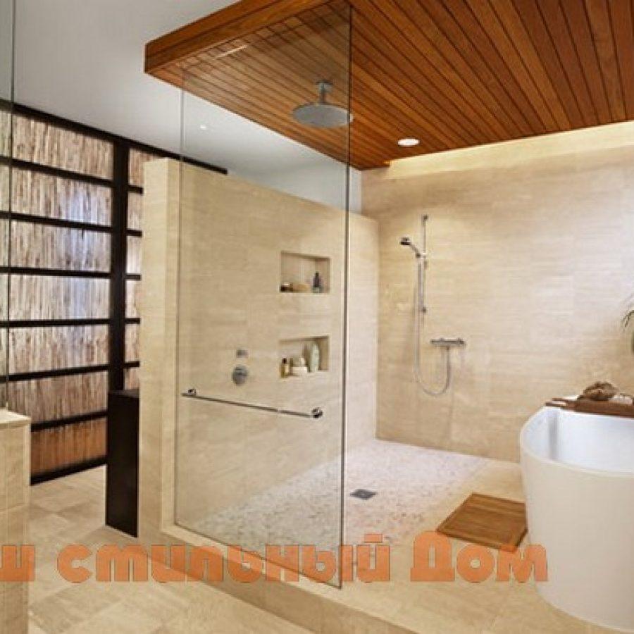 душевая и ванна