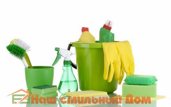Использование соды, уксуса, соли лимонного ока для чистки загрязнений