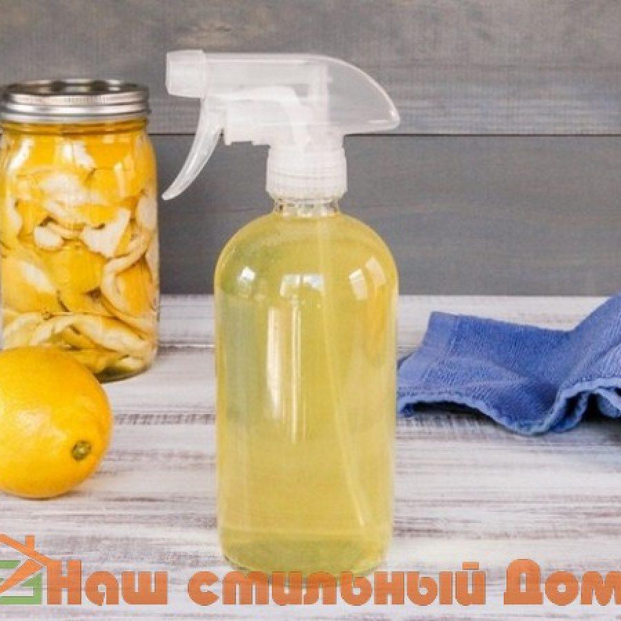 чистящие средства с уксусом и лимонным соком