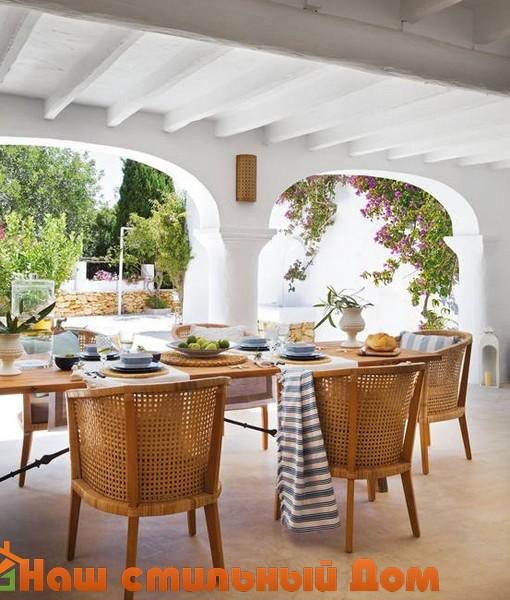 дизайн экстерьера и интерьера в испанском стиле