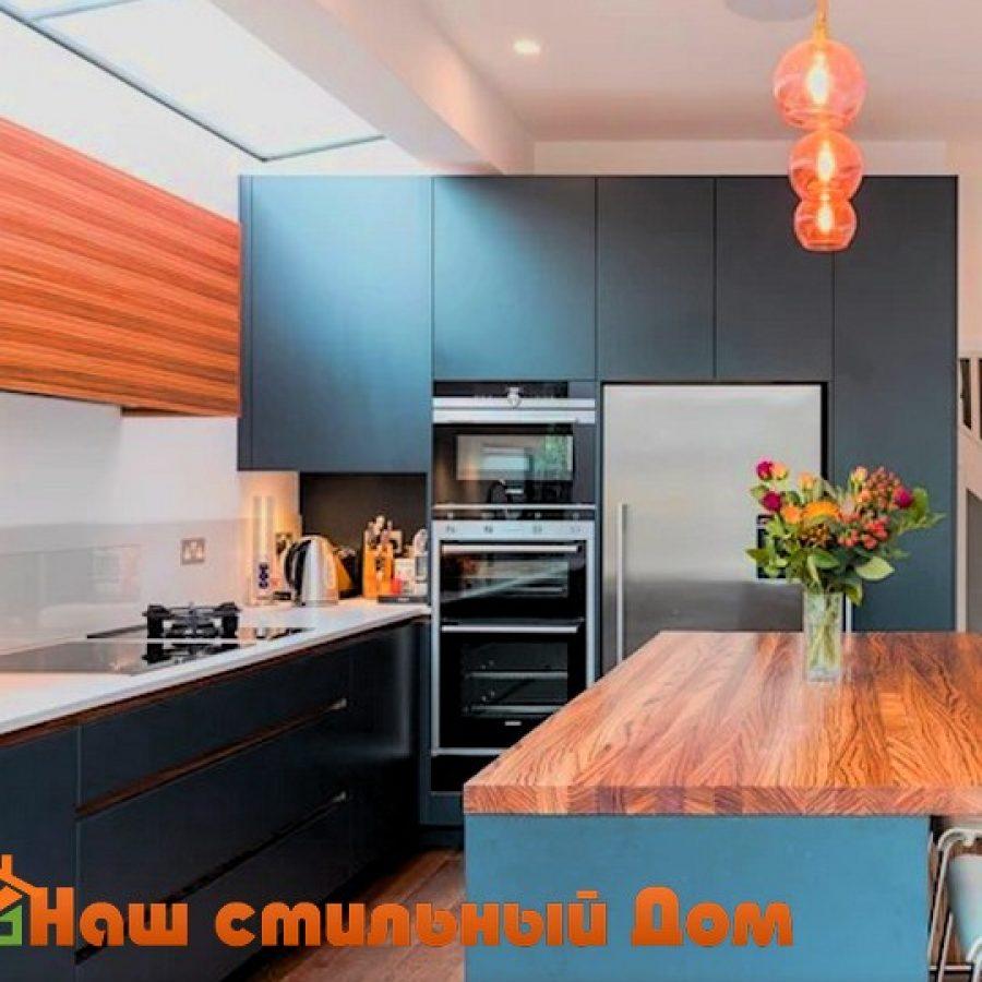 Узкая кухня, как визуально расширить пространство