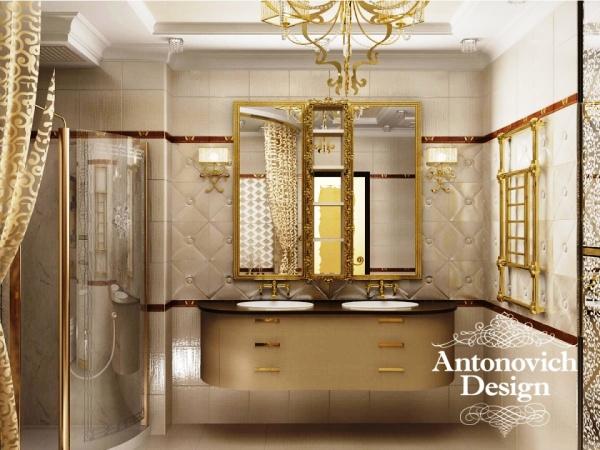 Дизайн квартиры - роскошная классика
