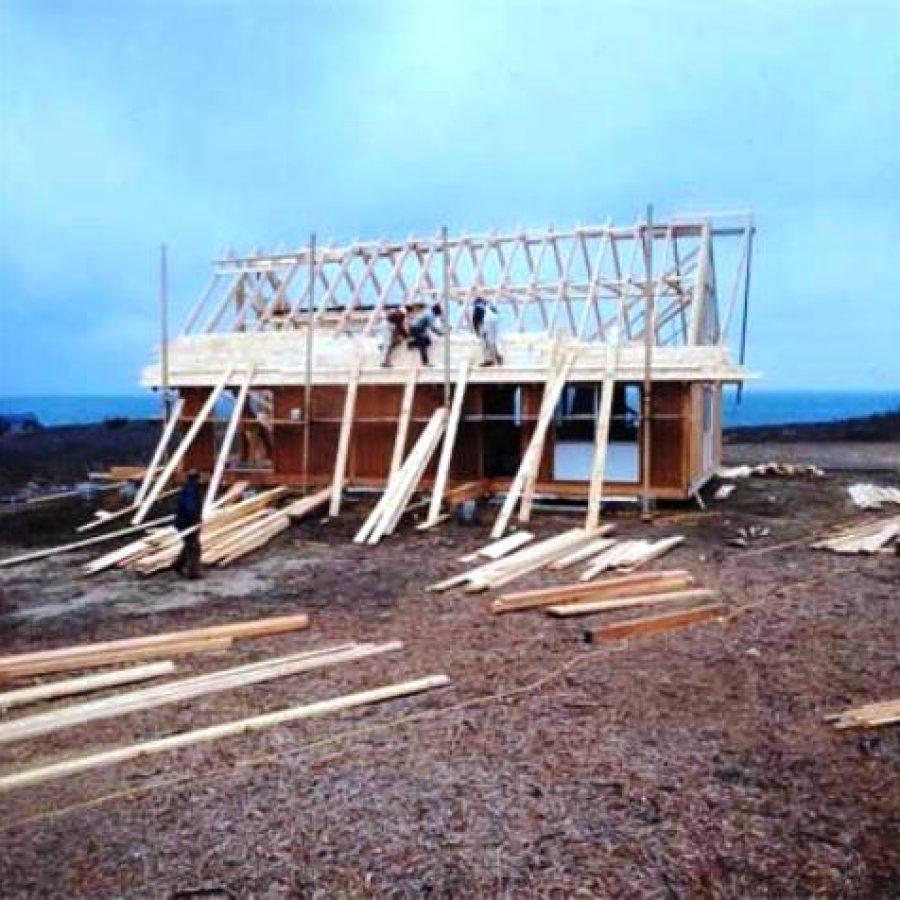 Block Island дом из бруса