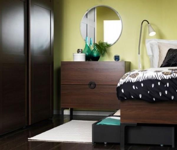спальня, оформление