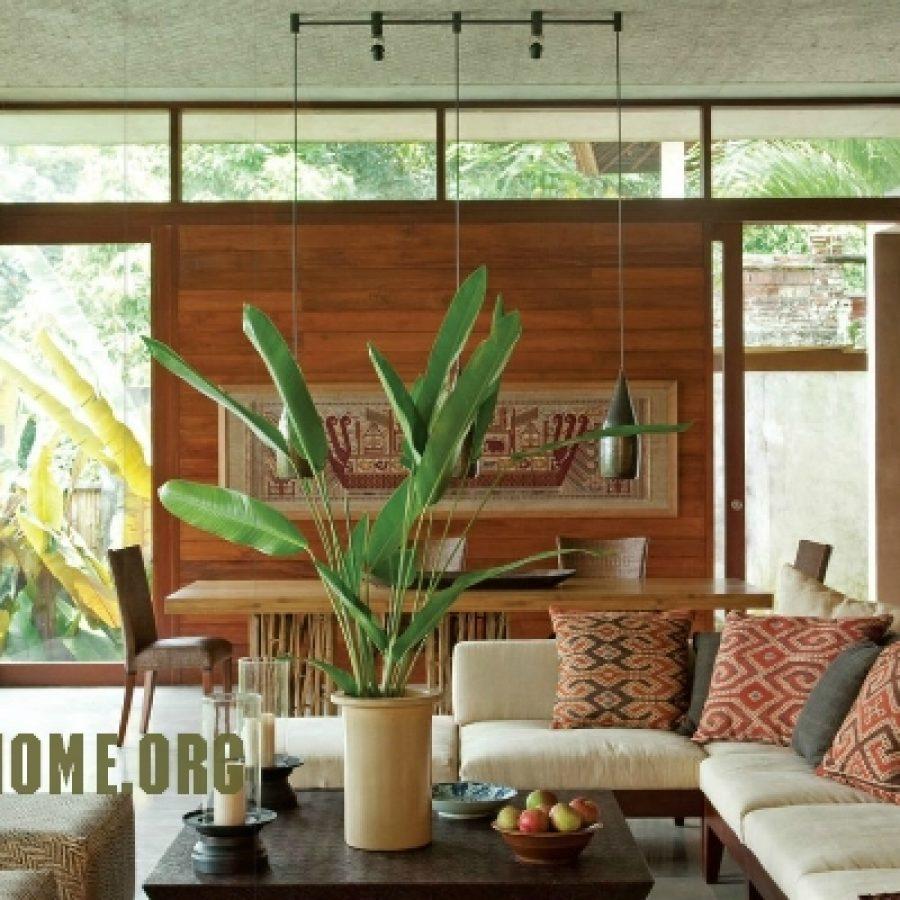 Индонезийская стилизация в интерьере