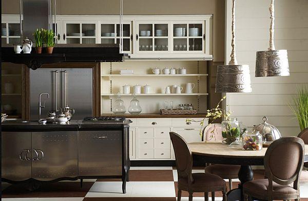 кухня для дома, стиль модерн