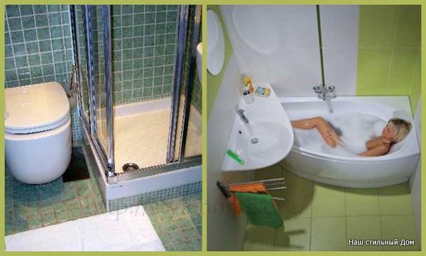 что выбрать душ или ванну