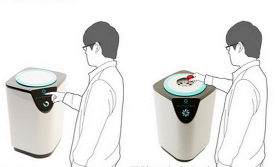 миниатюрный холодильник