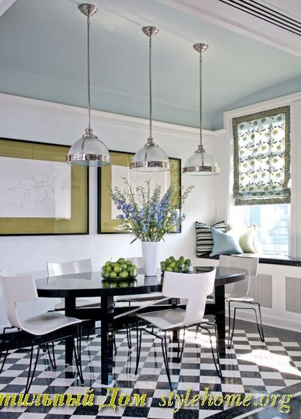 дизайн интерьера столовой, новые идеи