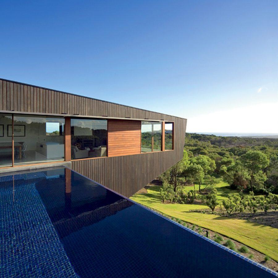 дом, бассейн