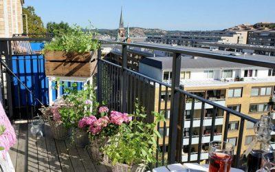 Обустраиваем неостекленный балкон