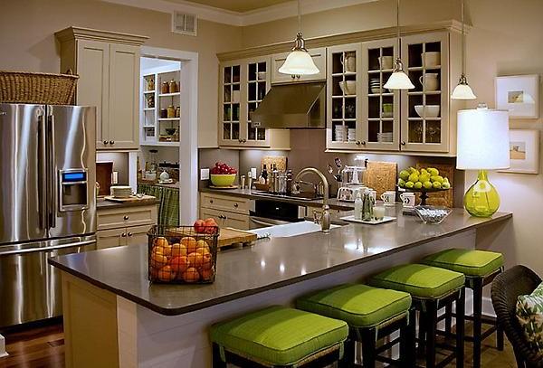 кухонная мебель, остров