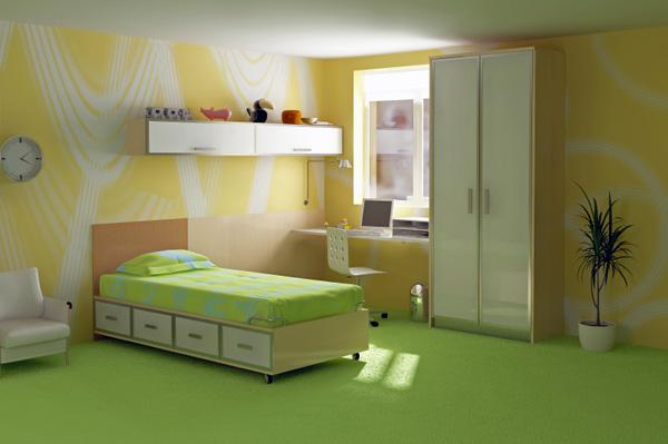 ковролин - напольное покрытие для спальни