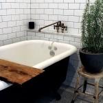 интерьер белой ванной комнаты