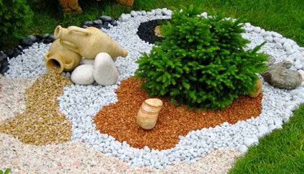 использование керамзита в ландшафтном дизайне