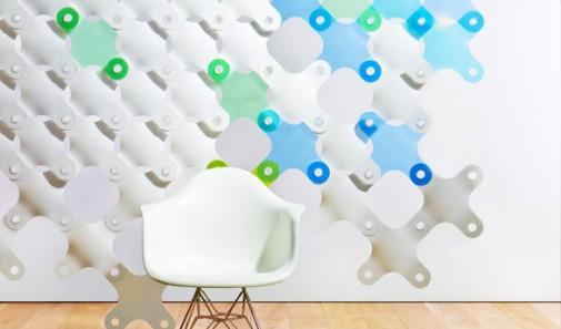 необычное покрытие для стен