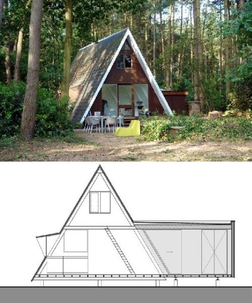 оригинальный домик в германии